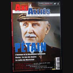 AXE 1939 - 1945 n°5 octobre - novembre 2007