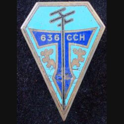 636° CCH de fabrication Drago G. 1394 en émail boléros ressoudés