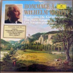 DISQUE 33T : Hommage à Wilhelm Kempff Beethoven sonates pour piano