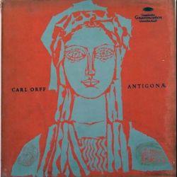 DISQUE 33T : Coffret de 3 disques vinyles 33 tours Carl Orff Antigonae
