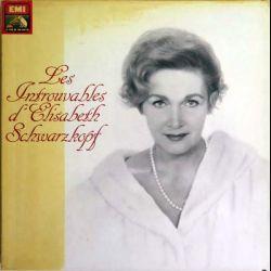 DISQUE 33T : Coffret de 5 disques vinyles 33 tours les introuvables d'Elisabeth Schwarzkopf