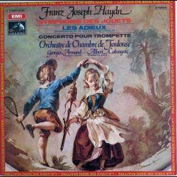 Haydn symphonie des jouets Les Adieux concerto pour trompette