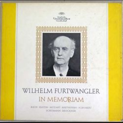 DISQUE 33T : Coffret de 5 disques vinyles 33 tours Wilhelm Furtwangler in memoriam