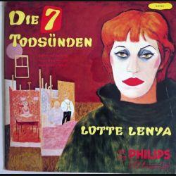 DISQUE 33T : Disque vinyle 33 tours de Die 7 Todsünden de Lotte Lenya