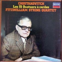 DISQUE 33T : Coffret de 7 disques vinyles 33 tours Les 15 quatuors à cordes de Chostakovitch