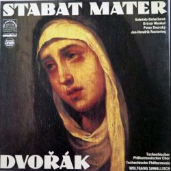 DISQUE 33T : Coffret de 2 disques vinyles 33 tours Stabat Mater de Dvorak