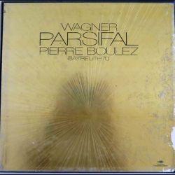 5 disques vinyles 33 tours Parsifal de Wagner par Pierre Boulez Bayreuth 70