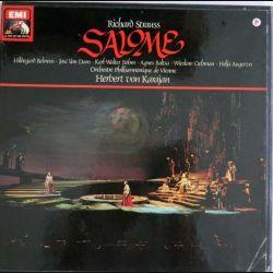 DISQUE 33T : Coffret de 2 disques vinyles 33 tours Salome de Richard Strauss direction Herbert Von Karajan