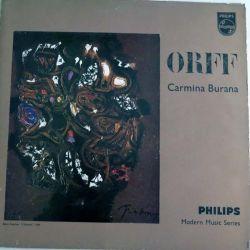 DISQUE 33T : Disque vinyle 33 tours Carmina Burana de Orff enregistrement Philips