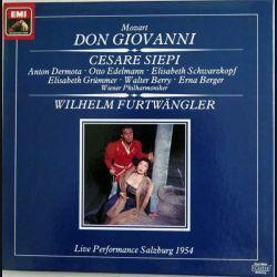 Don Giovanni avec Cesare Seppi de Mozart par Wilhelm Furtwängler