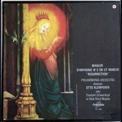 """Symphonie n° 2 en Ut mineur """"Résurrection"""" de mahler direction Otto Klemperer édité par Columbia"""