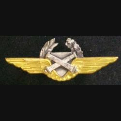 BREVET D'OBSERVATEUR ALAT : insigne du brevet d'observateur de l'aviation légère de l'armée de terre de fabrication Drago G. 1001 / S4