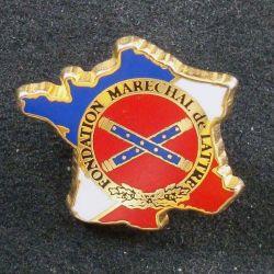 20° RA : insigne métallique du 20° régiment d'artillerie de fabrication Fraisse G. 1999