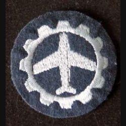 MILITARIA : Galon de soldat de 1° classe allemand en tissu