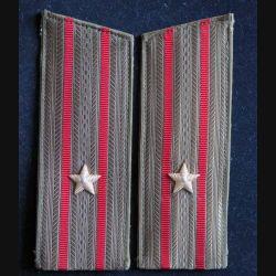 MILITARIA : paire d'épaulette de commandant de l'armée russe