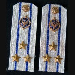 MILITARIA : paire d'épaulette de Colonel du service de sécurité de l'Etat russe