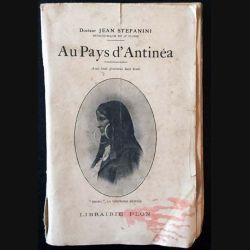 1. Au pays d'Antinéa de Jean Stefanini aux éditions librairie Plon 1926