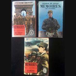 1. 3 Mémoires de guerre L'appel (1940-1942), l'unité (1942-1944) et le salut (1944-1946) du Général De Gaulle