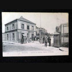 CARTE POSTALE GUERRE 1914-1918 : Orléans Caserne du quartier Dunois (Artillerie)
