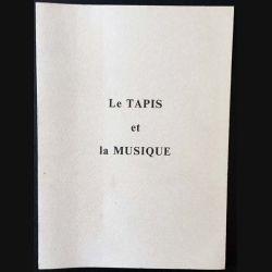1. Le tapis et la musique de Jean-Claude Raynaud et Nicole Mainguet aux éditions Soleil d'Orient