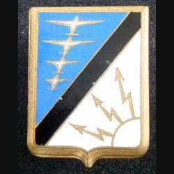 CDC 07-927 : insigne métallique du centre de détection et de contrôle n° 07-927 de fabricatio Drago A. 568 en émail