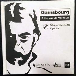 1. Gainsbourg 5, bis rue de Verneuil aux éditioins du Pc