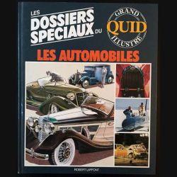 1. Les dossiers spéciaux du grand quid illustré Les automobiles aux éditions Robert Laffont