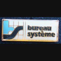 PIN'S INFORMATIQUE : Bureau système de fabrication Eurodor de largeur 2,5 cm