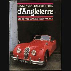 1. Les grands constructeurs d'Angleterre - une histoire illustrée de l'automobile aux éditions Gründ 1939