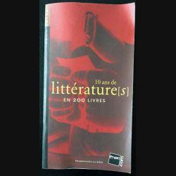 1. 10 ans de littératures en 200 livres
