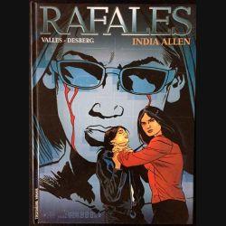 1. Rafales India Allen de Valles - Desberg aux éditions Troisième vague lombard