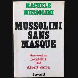 1. Mussolini sans masque de Rachel Mussolini aux éditions Fayard