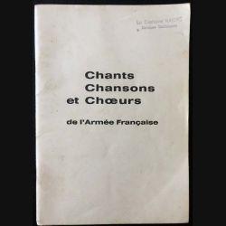 1. Chants chansons et choeurs de l'Armée Française