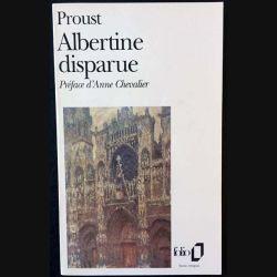 1. Albertine disparue de Marcel Proust aux éditions Gallimard 1989
