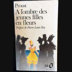 1. A l'ombre des jeunes filles en fleurs de Marcel Proust aux éditions Gallimard 1988