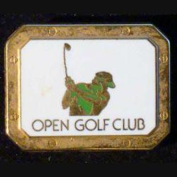 PIN'S GOLF : Open Golf Club de largeur 2,6 cm