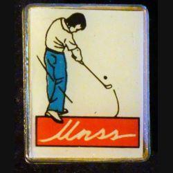 PIN'S GOLF : UNSS de largeur 1,8 cm