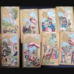 32 Cartes anciennes d'ombres chinoises