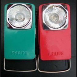 Lot de 3 Lampes de poche ne comprenant pas les piles de marque Philips