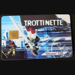 TELECARTE : télécarte trottinette street culture 2 120 unités 01/04/2003