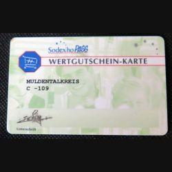 TELECARTE : télécarte Sodexho pass wertgutschein-Karte