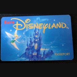 TELECARTE : télécarte Passeport Euro Disneyland