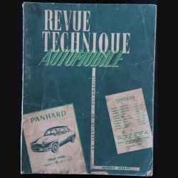 1. Revue technique automobile Panhard tous types