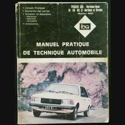 1. Manuel pratique de technique automobile - Peugeot 305, version base GL- GR- SR- S- Berlines et breaks