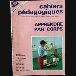 1. Cahiers pédagogiques apprendre par corps N°288 - Novembre 1990