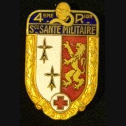 SERVICE DE SANTÉ 4°RÉGION MILITAIRE