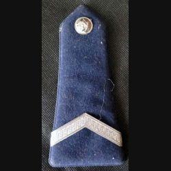 MILITARIA : patte d'épaule de gardien de la paix de la police vendu à l'unité