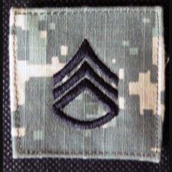 USA : galon de combat de sergent américain US Army sur scratch