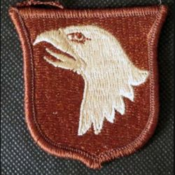USA : insigne de la 101° Airborne division multicam US patch