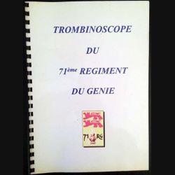 1. Trombinoscope du 71ème régiment du génie